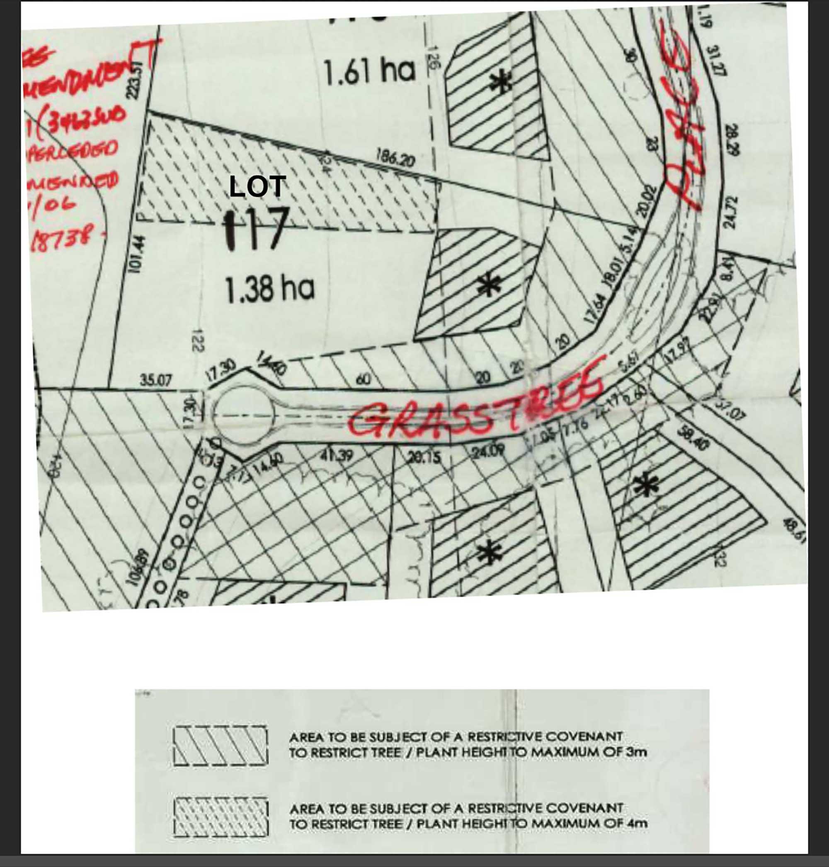 Lot 117 Plan